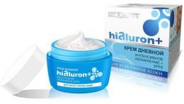"""Крем дневной BelKosmex Hialuron+ """"Интенсивное увлажнение+ SPF6"""" для всех типов кожи"""