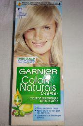 Крем-краска для волос Garnier color naturals creme  111 супер-осветляющий платиновый блонд