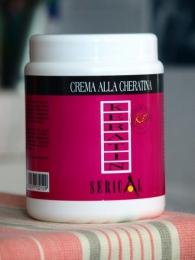 Крем-маска Serical Keratin для химически завитых, поврежденных и вьющихся от природы волос