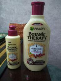 """Крем-масло для волос Garnier Укрепляющее """"Botanic Therapy. Касторовое масло и миндаль"""""""