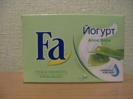 Крем-мыло Fa Уход & Свежесть «Йогурт» Алое вера Пребиотик комплекс