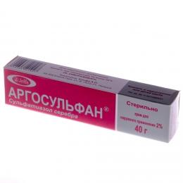 """Крем для наружного применения """"Аргосульфан"""""""