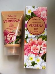 Крем Faberlic Verbena для всех типов кожи после 30 CC-крем SPF 10