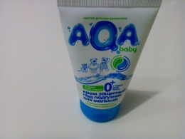 """Крем защитный под подгузник для малыша """"AQA baby"""""""