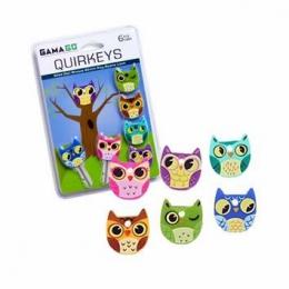 "Крышки для ключей GamaGo ""Owl Quirkeys"""