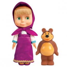 "Кукла ""Карапуз"" Маша + игрушка Медведь"