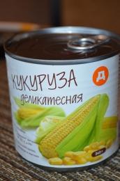 """Кукуруза деликатесная """"Дикси"""""""