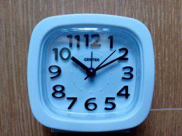 Кварцевый будильник Centek CT-7205 White