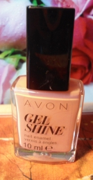 "Лак для ногтей Avon Gel Shine ""Розовое сияние"""