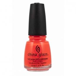 Лак для ногтей China Glaze Orange Knockout (neon)