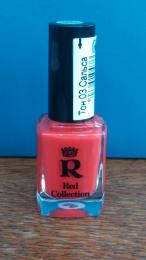 """Лак для ногтей Relouis """"Red Collection"""" тон 03 """"Сальса"""""""