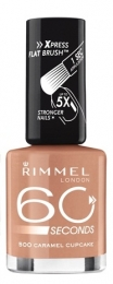 "Лак для ногтей Rimmel 60 Seconds 500 ""Caramel cupcake"""