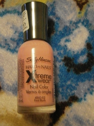 Лак для ногтей Sally Hansen Xtreme Wear №83 First Blush