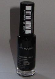 """Лак для ногтей """"Yves Rocher"""" Couleurs Nature №91 Интенсивный чёрный"""