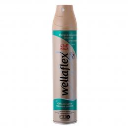 Лак для волос Wellaflex объем для тонких волос, супер-сильная фиксация