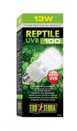"""Лампа для тропического террариума Reptile UVB 100 """"Hagen"""" Exo Terra 13W PT2186"""