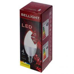 "Лампа светодиодная LED ""Bellight"" цоколь Е14 4W 350 лм"