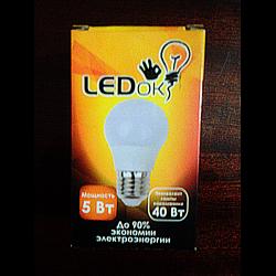 Лампа светодиодная LEDok 5Вт