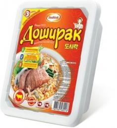 """Лапша быстрого приготовления """"Доширак"""" вкус говядины"""