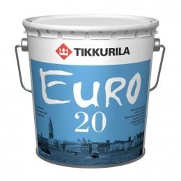 Латексная краска для влажных и сухих помещений Tikkurila Euro-20
