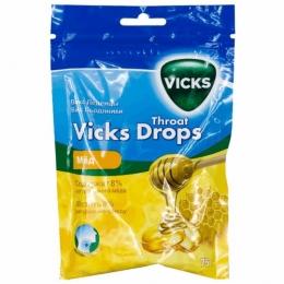 Леденцы Vicks Drops мед