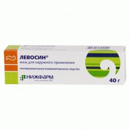 """Мазь для наружного применения """"Левосин"""""""
