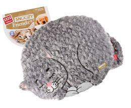 """Лежанка с дизайном """"GiGwi"""" Snoozy friendz """"Кот"""" для кошек и собак 57 см арт. 75118"""