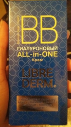 Гиалуроновый ВВ крем All-in-one Libre Derm