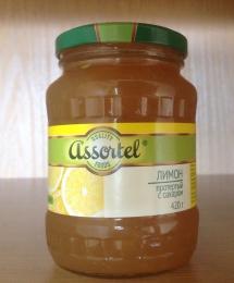 Лимон протертый с сахаром Assortel