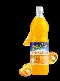 """Лимонад """"Росинка"""" Апельсин с экстрактом цедры апельсина"""