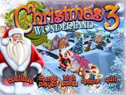 """Логическая игра """"Christmas Wonderland 3"""""""