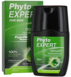 Лосьон после бритья для нормальной кожи Phyto Expert Ромашка и зеленый чай