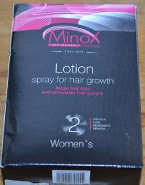 Лосьон-спрей для роста волос MinoX 2
