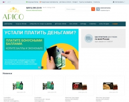 Интернет-магазин Apico.life