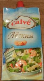 """Майонез Calve """"Легкий"""" 20% с натуральными цитрусовыми волокнами"""