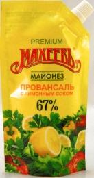 "Майонез ""Махеевъ"" Провансаль с лимонным соком 67%"