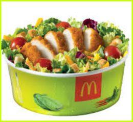 "McDonalds ""Салат Цезарь"""
