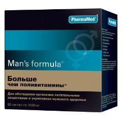 """Комплекс Man's formula """"Больше чем поливитамины"""""""