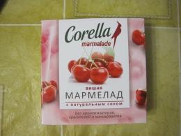"""Мармелад Corella """"Вишня"""" с натуральным соком"""