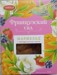 """Мармелад """"Французский сад"""" Азовская кондитерская фабрика с натуральным соком"""
