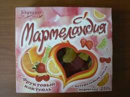"Мармелад ""Мармеландия"" Фруктовый коктейль с натуральным соком"