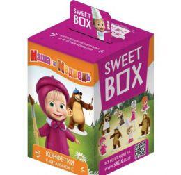 "Мармелад с игрушкой Sweet Box ""Маша и Медведь"""