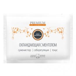 """Маска альгинатная Premium jet cosmetics """"Охлаждающая с ментолом"""""""