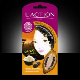Маска для лица с маслом ши L'Action Cacao crunchy