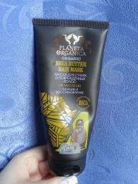 """Маска для сухих и поврежденных волос Planeta Organica на масле Ши """"Питание и восстановление"""""""