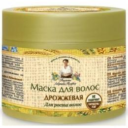 """Маска для волос Рецепты бабушки Агафьи """"Дрожжевая"""" для усиления роста волос"""