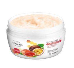 """Маска для волос с витаминным комплексом """"Грейпфрут и маракуйя"""" Avon Naturals"""