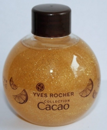 "Масло для тела с блестками Yves Rocher ""Какао-апельсин"""