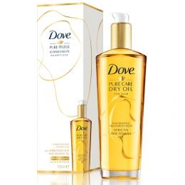 """Сухое масло для волос Dove Pure Care Dry Oil """"Преображающий уход"""""""