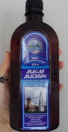 """Масло льняное нерафинированное """"Волоколамское"""""""